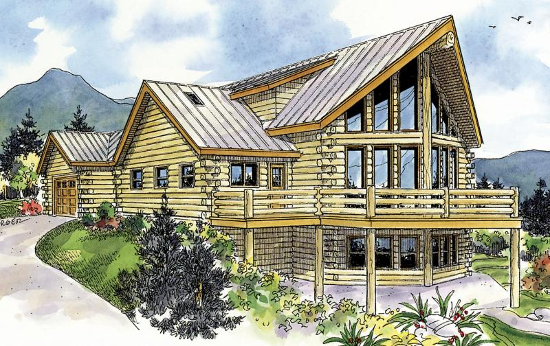 Log plan 1 987 square feet 2 bedrooms 2 5 bathrooms for 5 bedroom log home plans