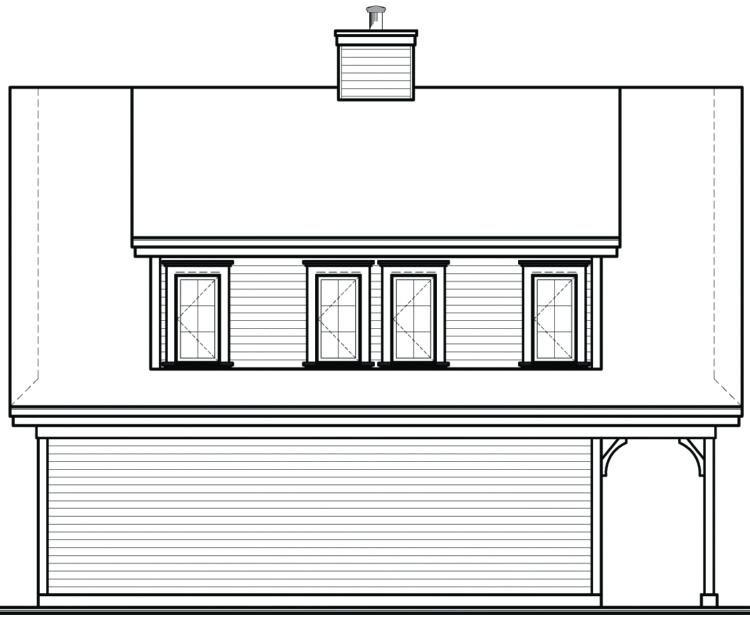 House Plan #034-00109 Elevation Photo