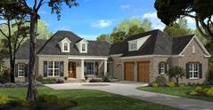 Courtyard Entry House Plans | Garden Entry Home Designs