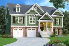 Large Split Foyer House Plans