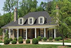 One Story Colonial House Plans | Colonial Style Plans Floor Plans Collection