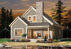 plan034 01049 - Lake House Plans