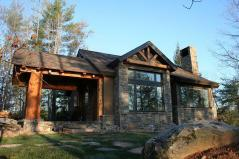 Cabin House Plans Mountain Home Designs Floor Plan Collections