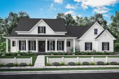 plan041 00166 - Modern Farmhouse Plans