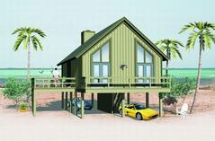 Coastal Style House Plans | Beach Home Design & Floor Plan Collection