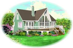 1001-1500 Square Feet House Plans | 1500 Square Home Designs