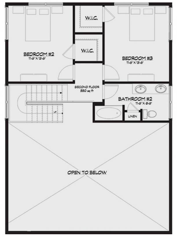 Lake front plan 1 793 square feet 3 bedrooms 2 for 1400 n lake shore drive floor plans