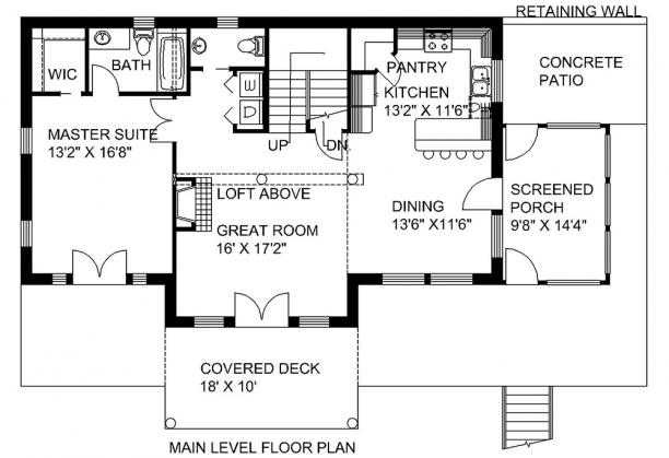 Lake front plan 2 272 square feet 3 bedrooms 3 5 for 1400 n lake shore drive floor plans