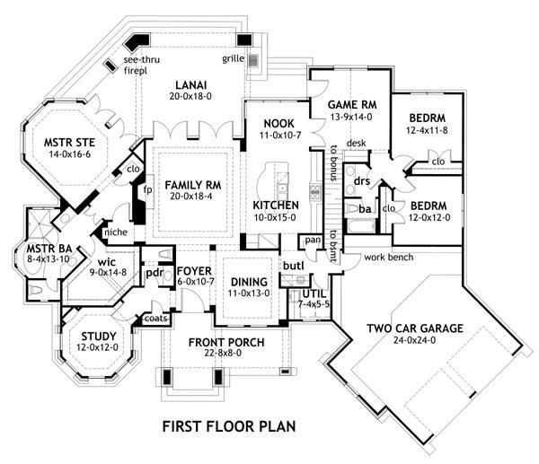 Ranch Plan 2 595 Square Feet 3 Bedrooms 2 5 Bathrooms