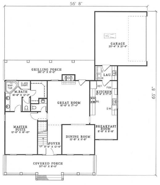 Cape cod plan 2 025 square feet 3 bedrooms 2 5 for 5 bedroom cape cod house plans