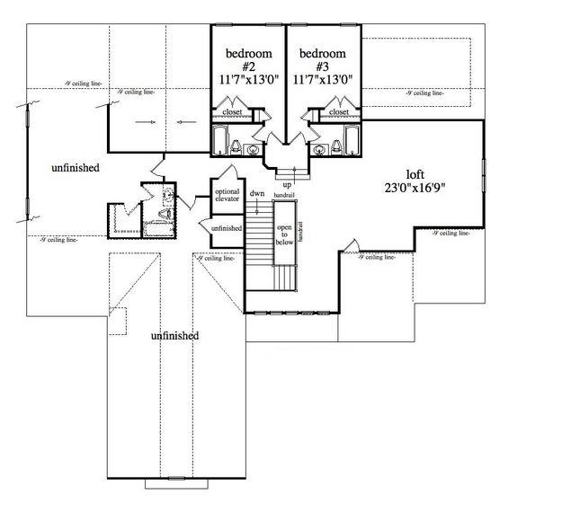 Lake front plan 3 983 square feet 4 bedrooms 5 for 1400 n lake shore drive floor plans