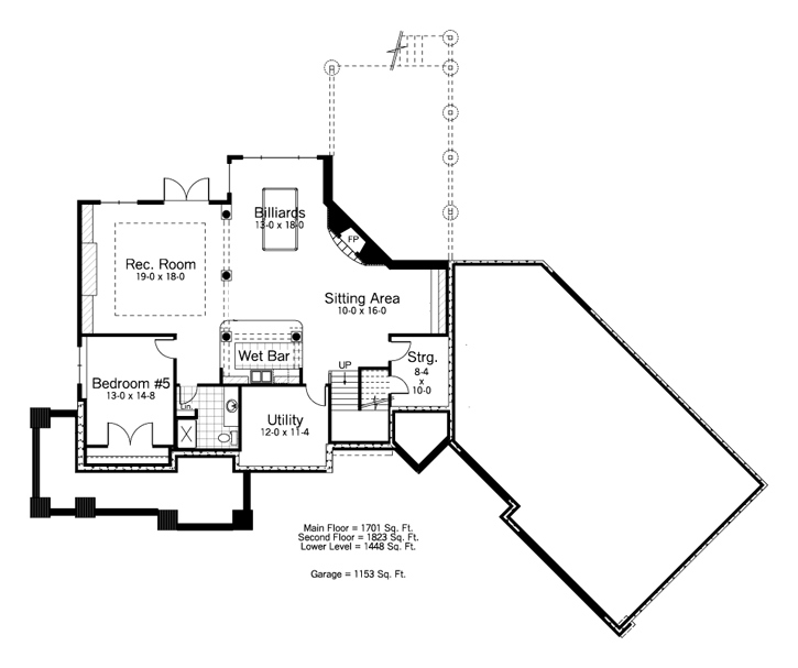Traditional Plan: 3,524 Square Feet, 4-5 Bedrooms, 3.5 Bathrooms ...