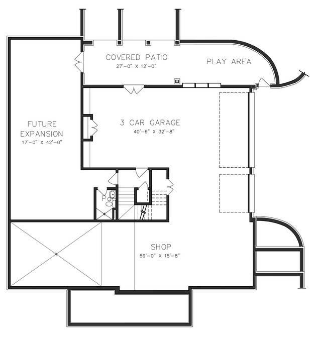 Floorplan 3 for House Plan #6819-00010