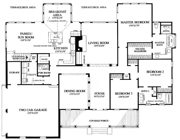 Farmhouse plan 2 777 square feet 4 bedrooms 3 5 for Www houseplans net