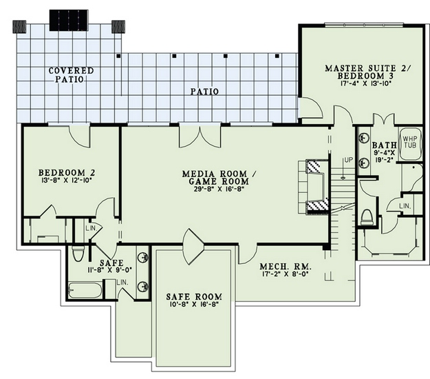 Bat Floor Plan