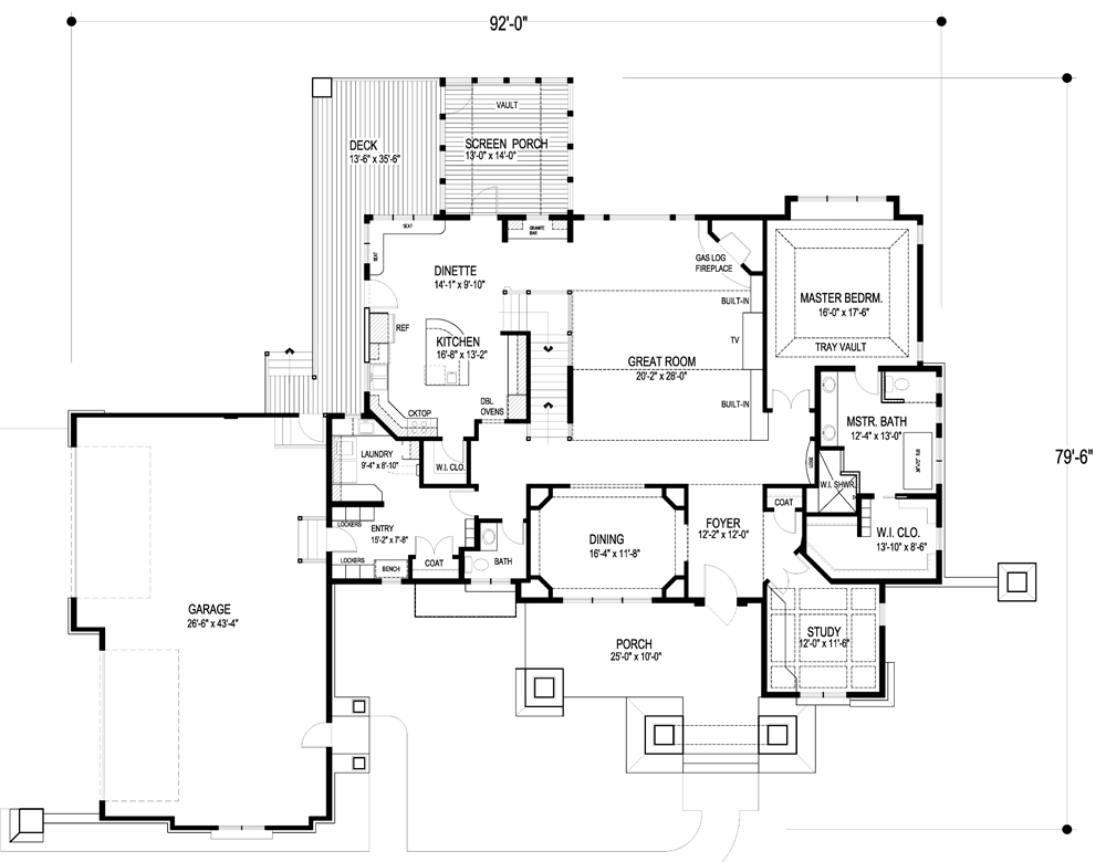 craftsman plan 5 077 square feet 5 bedrooms 4 bathrooms