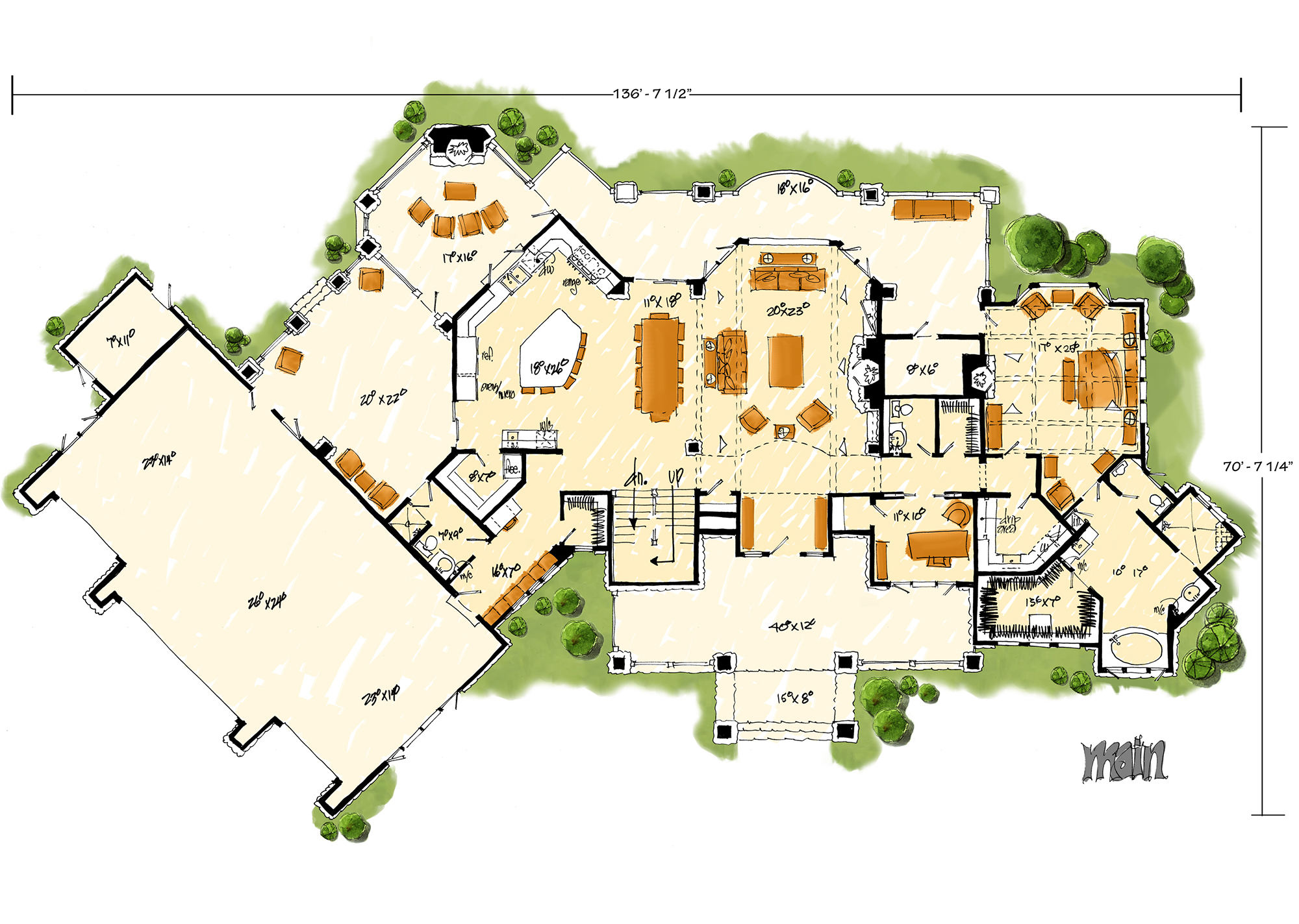 floor plans with pictures luxury plan 4 520 square 4 bedrooms 4 5 bathrooms 17683
