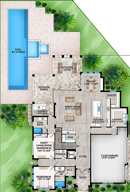 Main for House Plan #207-00042