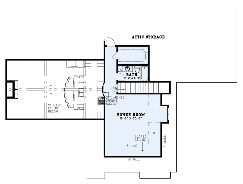 Bonus for House Plan #110-01046