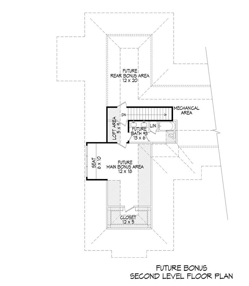 Floorplan 2 for House Plan #940-00062