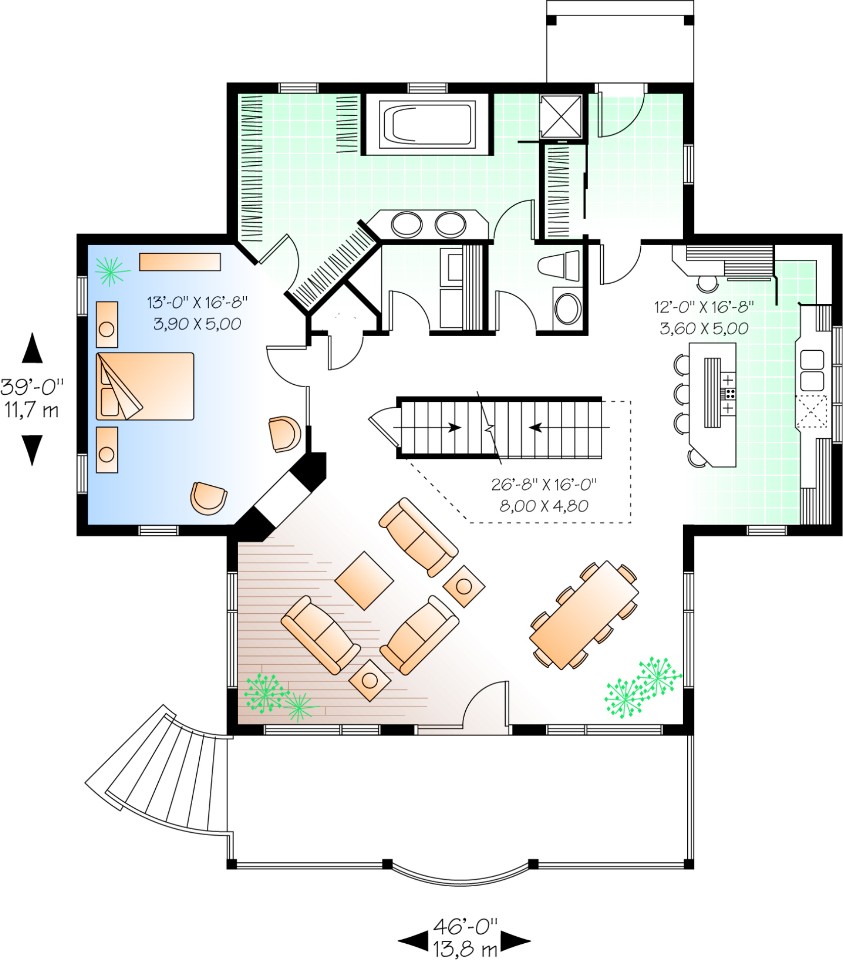 Basement Plan 2 393 Square Feet 3 Bedrooms 3 5