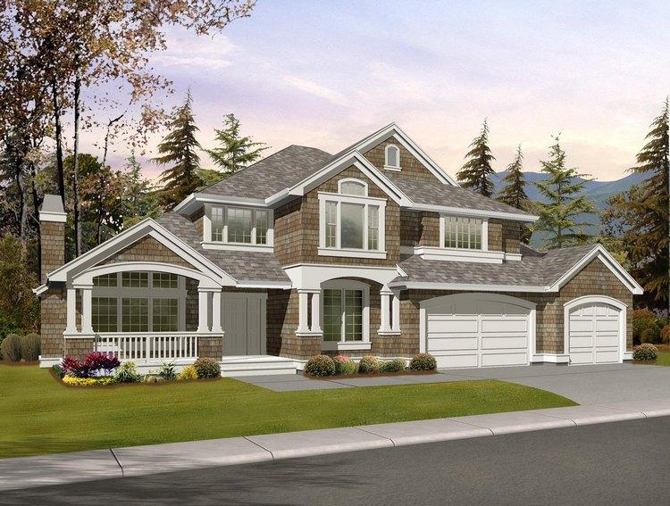 Northwest house plans pacific home designs floor plans for Pacific northwest house plans