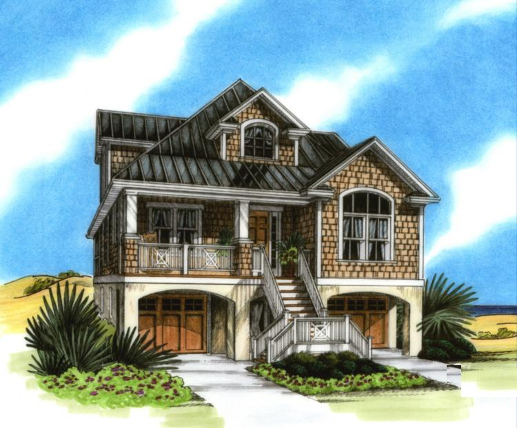 Beach house plans coastal home plans home design Beach house plans