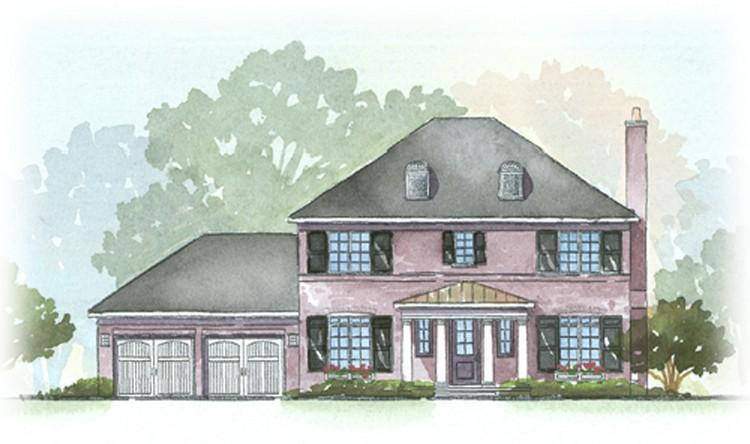 Georgian Style Home Plans Floor Plans