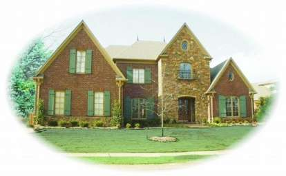 4 Bed, 4 Bath, 4940 Square Foot House Plan - #053-02150