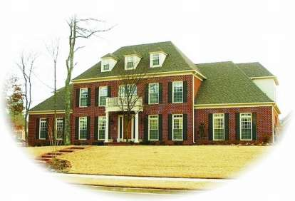 4 Bed, 4 Bath, 5112 Square Foot House Plan - #053-02190
