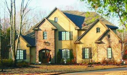 4 Bed, 3 Bath, 5014 Square Foot House Plan - #053-02200