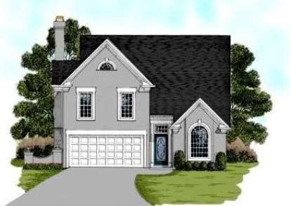 3 Bed, 2 Bath, 1776 Square Foot House Plan - #036-00043