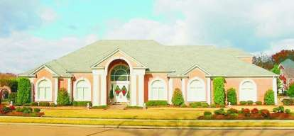 6 Bed, 4 Bath, 6321 Square Foot House Plan - #053-02254