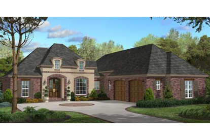 3 Bed, 2 Bath, 2200 Square Foot House Plan - #041-00048