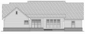 Southern House Plan #041-00049 Elevation Photo