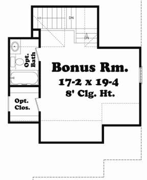 Second Floor for House Plan #041-00049