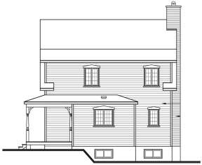 Country House Plan #034-00225 Elevation Photo
