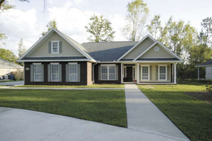 3 Bed, 2 Bath, 1787 Square Foot House Plan - #036-00048