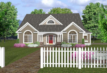 3 Bed, 2 Bath, 1798 Square Foot House Plan #036-00049