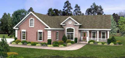 3 Bed, 2 Bath, 1963 Square Foot House Plan - #036-00053