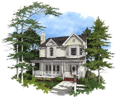 3 Bed, 2 Bath, 1985 Square Foot House Plan #036-00068