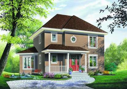 3 Bed, 2 Bath, 1662 Square Foot House Plan - #034-00438