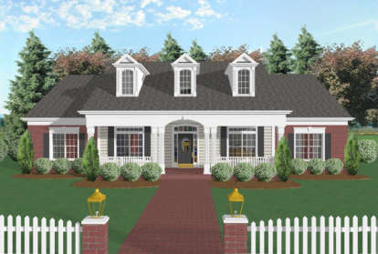 4 Bed, 3 Bath, 1992 Square Foot House Plan #036-00070