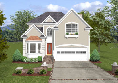 3 Bed, 2 Bath, 1834 Square Foot House Plan - #036-00075