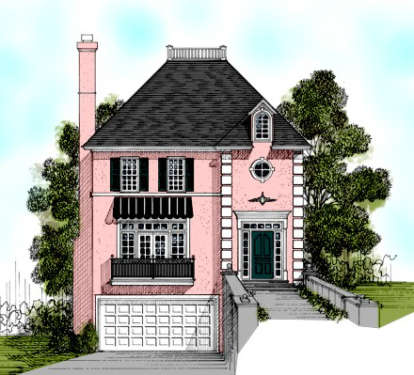 3 Bed, 2 Bath, 1873 Square Foot House Plan - #036-00076