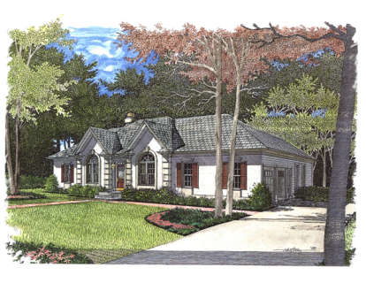 3 Bed, 2 Bath, 2006 Square Foot House Plan - #036-00077