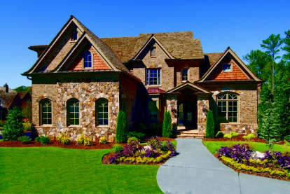 5 Bed, 5 Bath, 4354 Square Foot House Plan - #699-00028