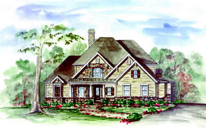 4 Bed, 3 Bath, 2932 Square Foot House Plan - #699-00030