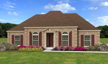 3 Bed, 2 Bath, 2246 Square Foot House Plan - #053-02443