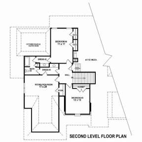 Floorplan 2 for House Plan #053-02506